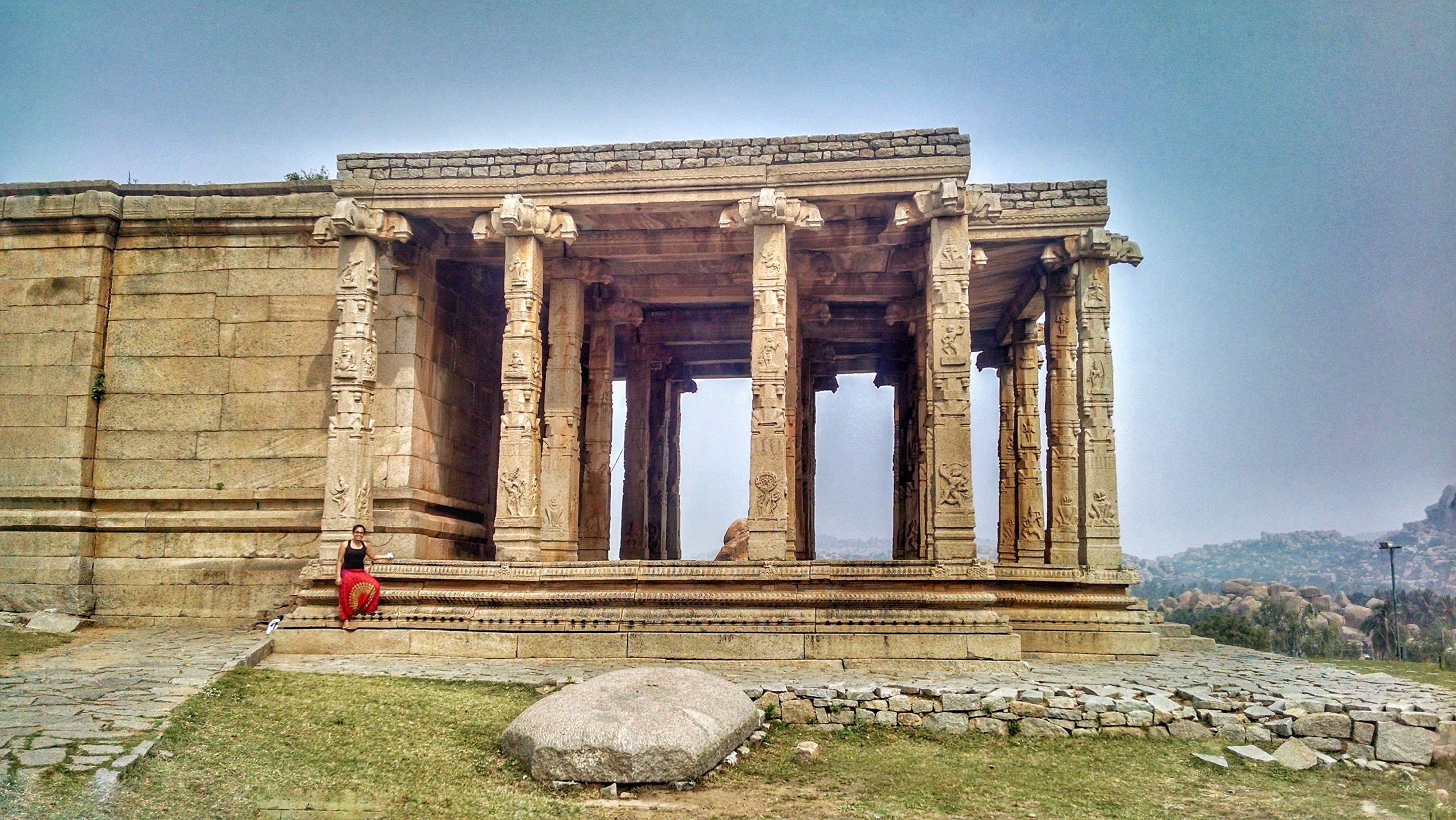 Hampi can overwhelm you at times
