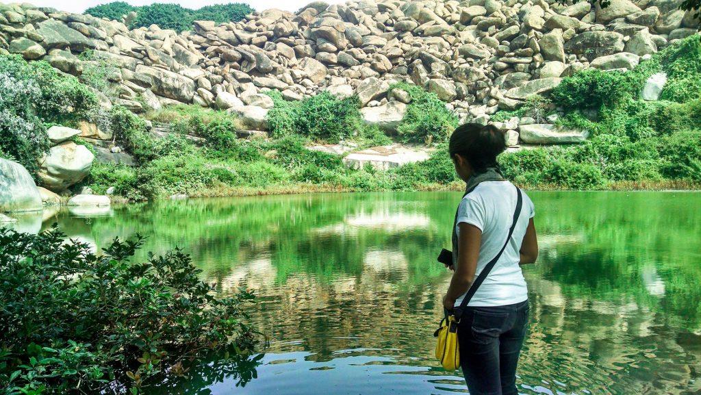 Lake Pampasarovar, Hampi