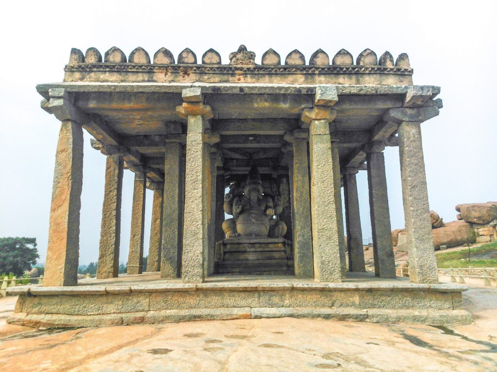 Saasivekaalu Ganesha, Hampi