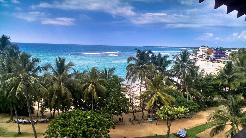 Hikkaduwa Beach, Sri Lanka